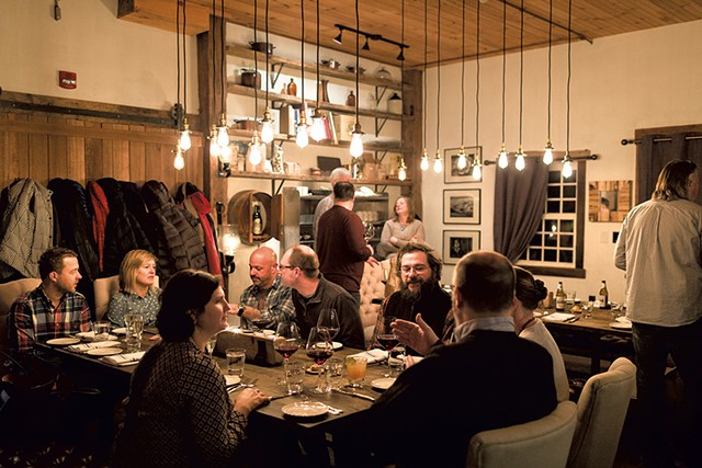 The Backroom - FILE: OLIVER PARINI