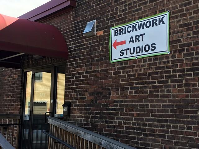 Brickwork Art Studios in Burlington's South End - PAMELA POLSTON