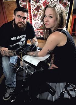 Dana Morse and Katlin Parenteau - MATTHEW THORSEN