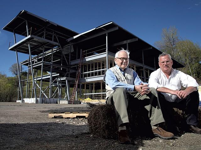 Marcel Beaudin (left) and Mark Naud - MATTHEW THORSEN