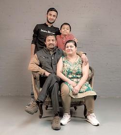 The Maidali family - PHOTOS: COURTESY OF MICHELLE SAFFRAN