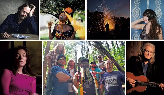 Seven Days summer music festival guide - COURTESY PHOTOS