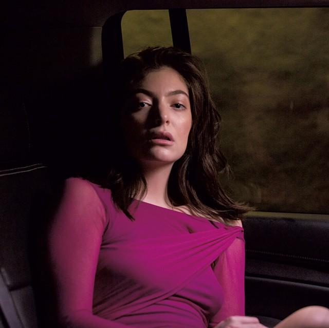 Lorde - COURTESY PHOTO