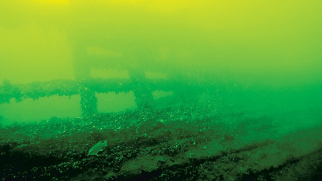 Footage from an Escape shipwreck tour - COURTESY OF LAKE CHAMPLAIN MARITIME MUSEUM