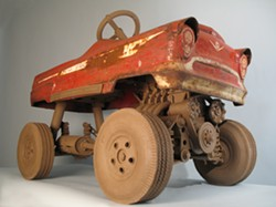 """Big Red"" by John Brickels - COURTESY OF FROG HOLLOW VERMONT STATE CRAFT CENTER"