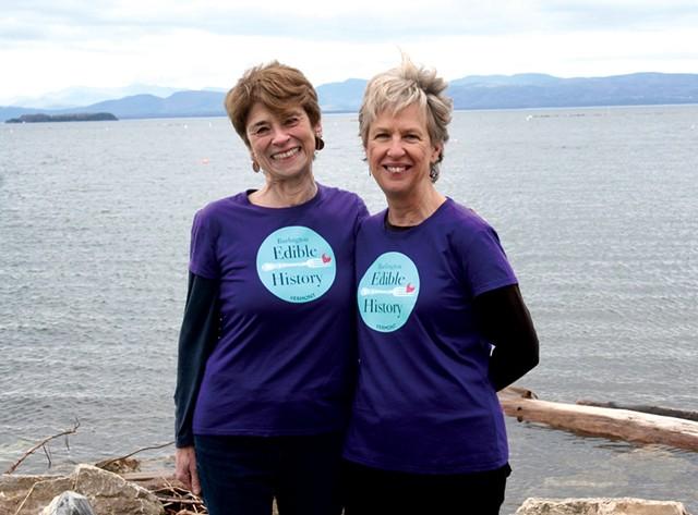 Gail Rosenberg and Elise Guyette - SUZANNE PODHAIZER