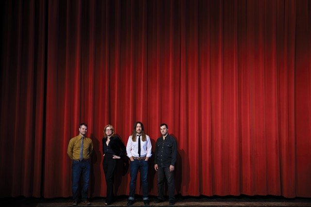 Swale, L to R: Jeremy Frederick, Amanda Gustafson, Eric Olsen, Tyler Bolles - SHEM ROOSE