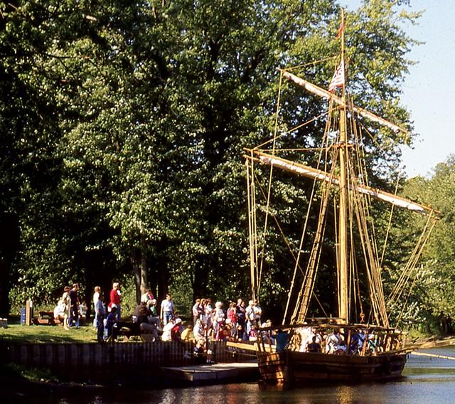 Philadelphia II, a replica of a 1776 gunboat - PHOTOS COURTESY OF LAKE CHAMPLAIN MARITIME MUSEUM