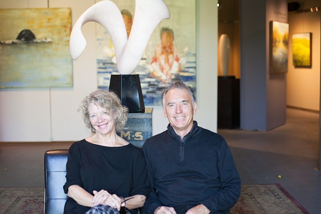 Tari Swenson and Chris Curtis - COURTESY OF WEST BRANCH GALLERY