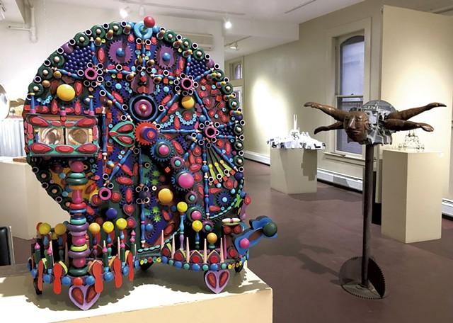 """Stereoptical Storytelling Machine"" by Robert Waldo Brunelle Jr. - COURTESY OF STUDIO PLACE ARTS"