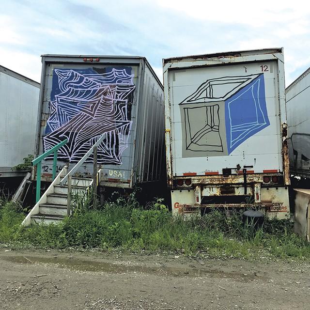 """Clark Derbes """"Truck Lot Gallery"""" - RACHEL ELIZABETH JONES"""