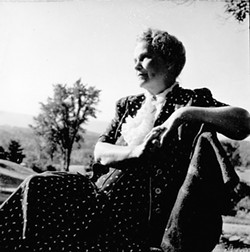 Dorothy Canfield Fisher at home in Arlington - COURTESY OF UNIVERSITY OF VERMONT SPECIAL COLLECTIONS