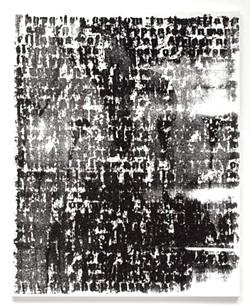 """Figure#3"" by Glenn Ligon - COURTESY OF HALL ART FOUNDATION"