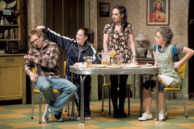 Left to right: Adam Petherbridge, Clare Mahoney, Kim Taff, Kathryn Markey - COURTESY OF ANDY DUBACK