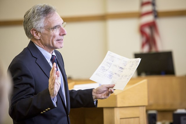 Deputy Franklin County State's Attorney John Lavoie - GREGORY J. LAMOUREUX/COUNTY COURIER