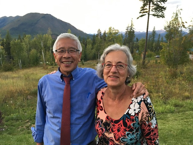 Dr. Harry Chen and Anne Lezak - COURTESY PHOTO