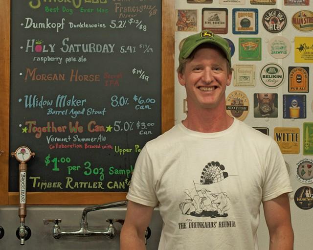 Ben Linehan of Brocklebank Craft Brewing - HANNAH PALMER EGAN