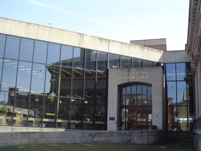Fletcher Free Library - COURTESY OF FLETCHER FREE LIBRARY