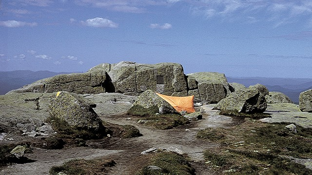 The summit of Mount Marcy in 1981 - COURTESY OF THE ADIRONDACK SUMMIT STEWARDSHIP PROGRAM