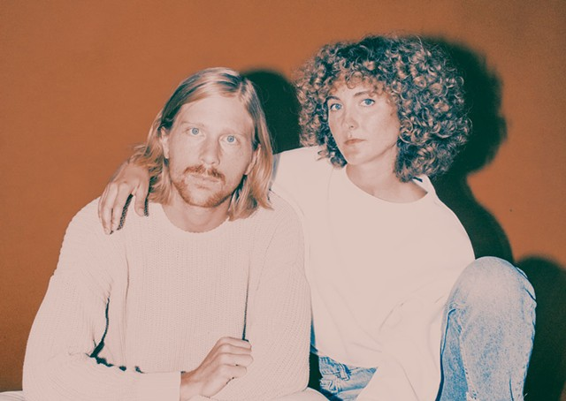 Partick Riley and Alaina Moore of the retro-pop duo Tennis - LUCA VENTER