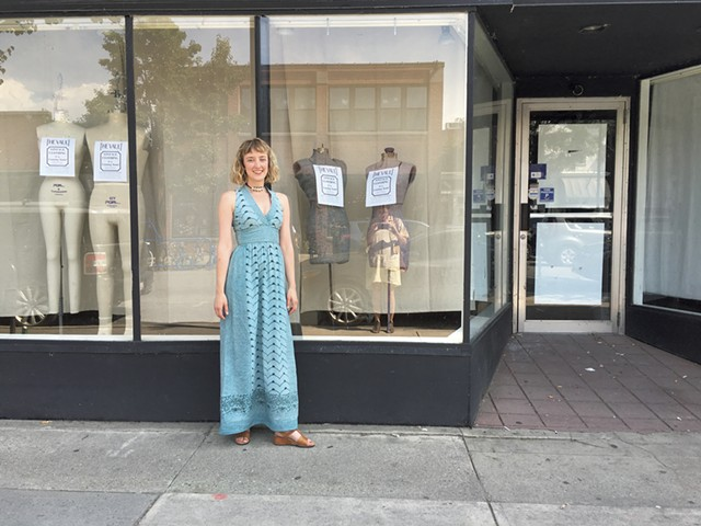 Ruth Meteer in front of the new Vault Collective location on Cherry Street - SADIE WILLIAMS