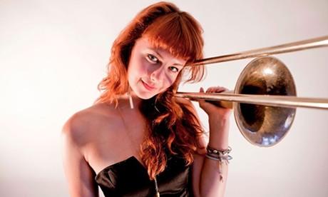 Natalie Cressman - COURTESY OF THE BURLINGTON DISCOVER JAZZ FESTIVAL
