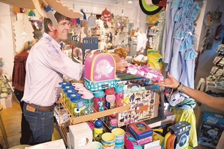 Jamie Two Coats' Toy Shop - JAMES BUCK
