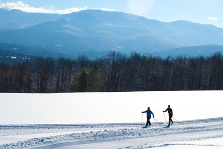 Cross-country skiing at Trapp Family Lodge - COURTESY OF TRAPP FAMILY LODGE