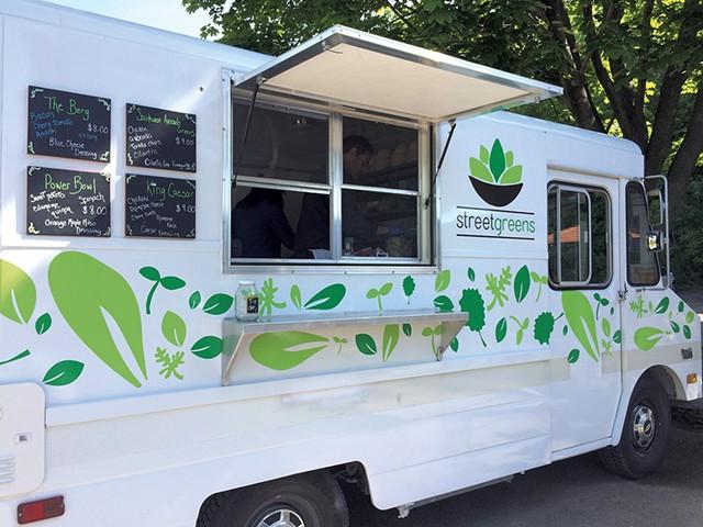 The Streetgreens food truck - COURTESY OF STREETGREENS
