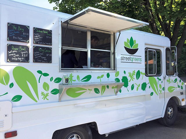 The Streetgreens food truck - COURTESY OF STREETGREENS