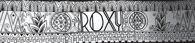 Sivan Saati's mural concept for the Roxy - COURTESY OF SIVAN SAATI