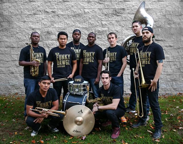 Funky Dawgz Brass Band - COURTESY OF FUNKY DAWGZ BRASS BAND