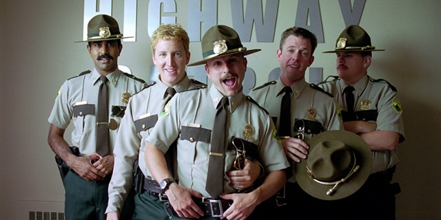 The cast of 'Super Troopers 2' - COURTESY OF BROKEN LIZARD