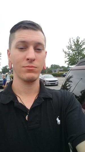Ryan Roy at the Charlottesville rally - COURTESY RYAN ROY
