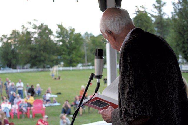 Wendell Berry reading - COURTESY OF LOU LEPPING FOR STERLING COLLEGE