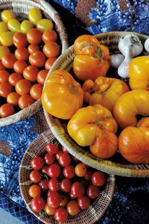 Tomatoes at Green Mountain Girls Farm - JEB WALLACE-BRODEUR