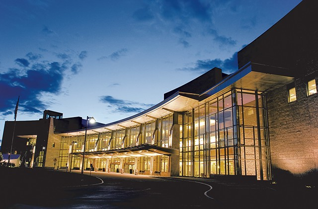 University of Vermont Medical Center - COURTESY OF UNIVERSITY OF VERMONT  MEDICAL CENTER