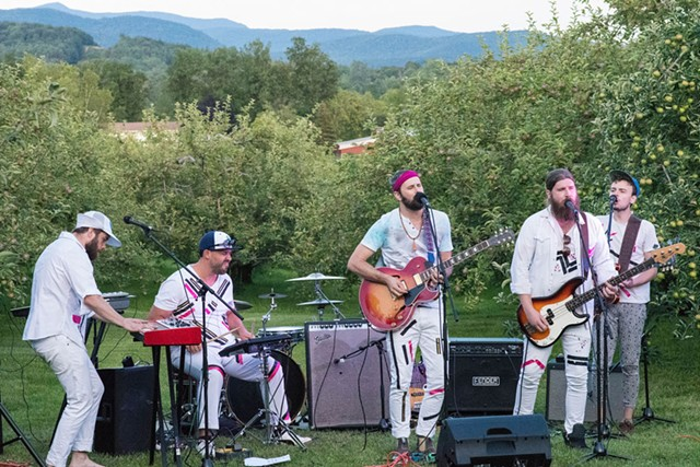 Madaila at Vermont's first Sofar Sounds concert - COURTESY OF REX ACCAVALLO