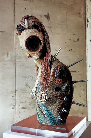 David Huber sculpture - COURTESY OF SEABA
