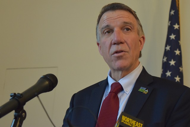 Gov. Phil Scott - FILE: TERRI HALLENBECK