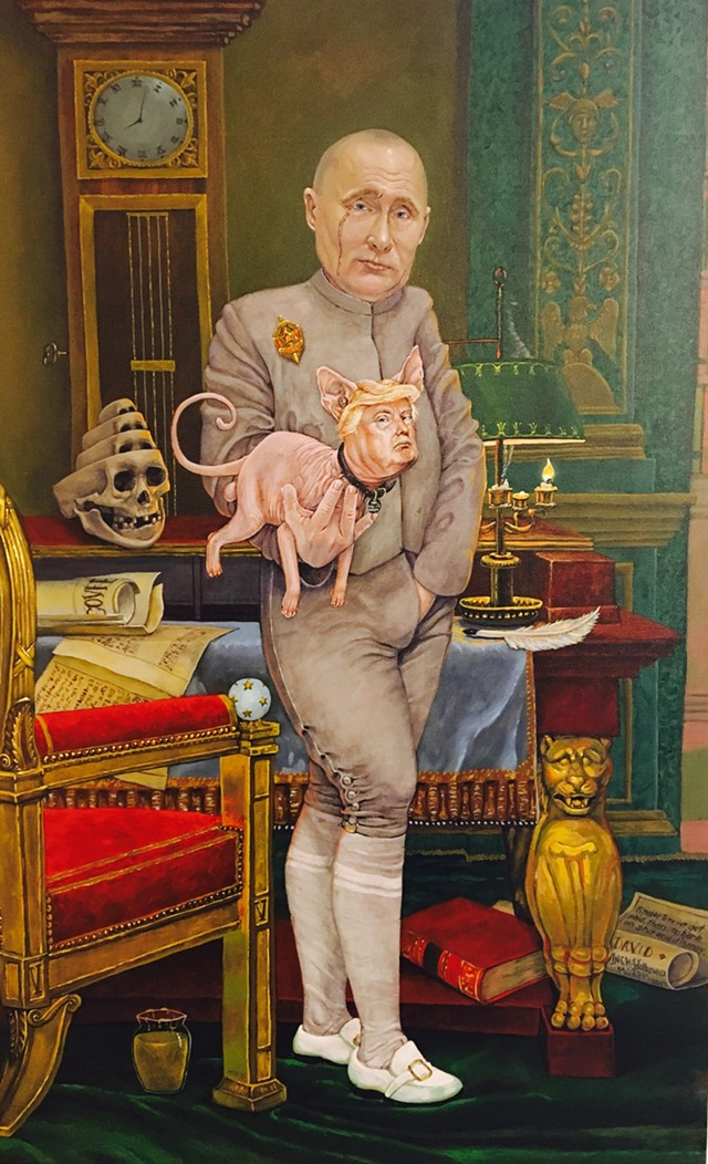 """Mr. Biglysworth"" by Matt Morris, on view at the S.P.A.C.E. Gallery - COURTESY OF MATT MORRIS"