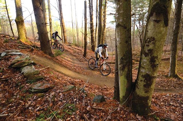 Biking in Stowe - FILE: JEB WALLACE-BRODEUR