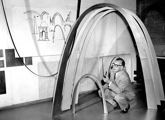 From Eero Saarinen: The Architect Who Saw the Future - COURTESY OF ARCHITECTURE + DESIGN FILM SERIES