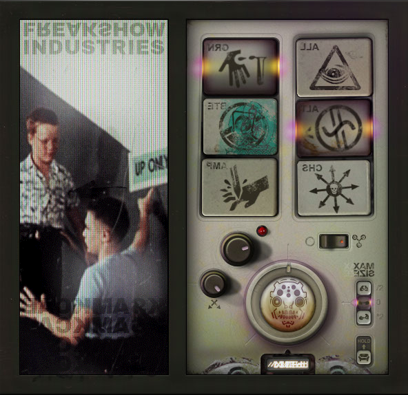Screenshot of Freakshow Industries' landing page - FREAKSHOW INDUSTRIES