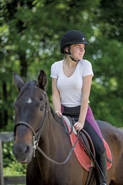 Phoebe Mason on Merlin - OLIVER PARINI