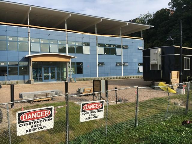The new building - MATTHEW ROY
