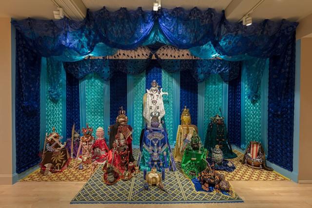 Gallery view of Cuban Santería birthday altar by William Zapata.