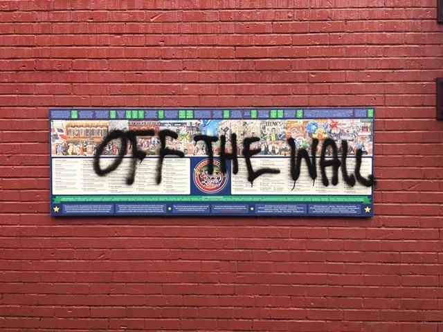 The graffiti - SADIE WILLIAMS