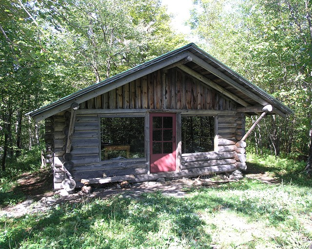 Merck Forest and Farmland Center cabin - COURTESY OF MERCK FOREST AND FARMLAND CENTER