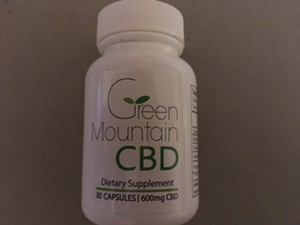 CBD supplements that are subject to sales tax. - TERRI HALLENBECK